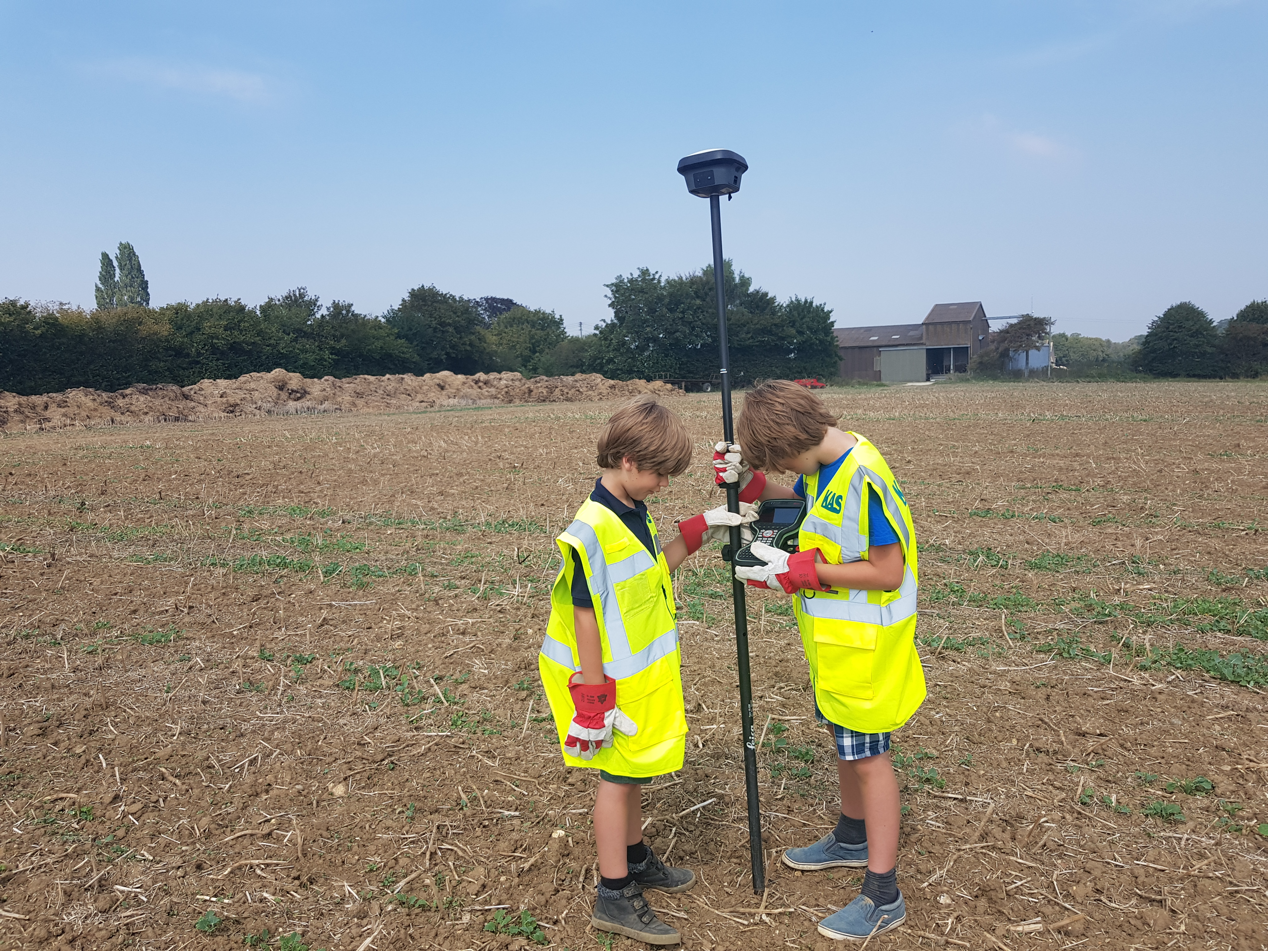 Isaac and Finlay gnss
