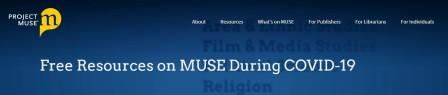 Muse homepage