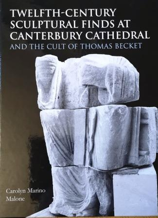 Canterbury cathedral sculptures book cover
